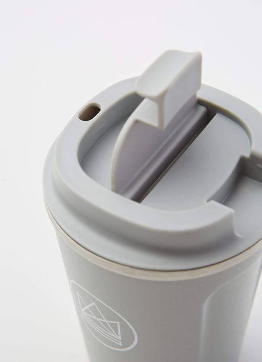 Neon Kactus Coffee Cup Stainless Steel Coffee Cups - Grey - 12oz Travel Mug
