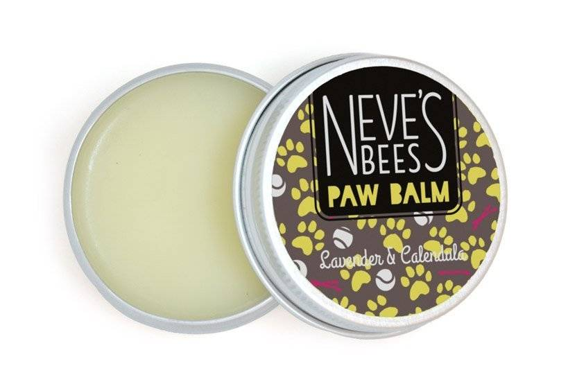Organic Lavender and Calendula Dog Paw Balm