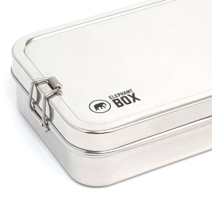 Small Single Tier Lunchbox - Elephant Box