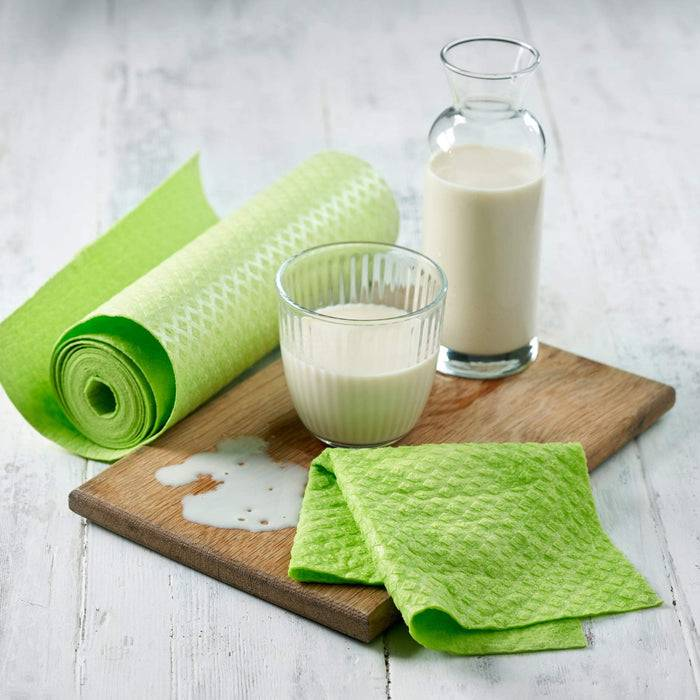 Compostable & Reusable Sponge Kitchen Roll - Plastic Free