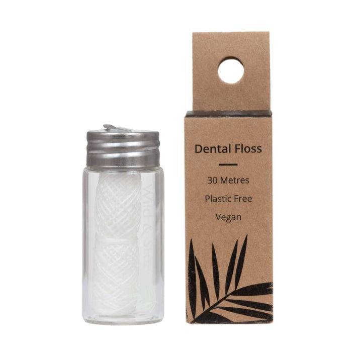 Wild & Stone Dental Floss Dental Floss - Mint - Corn Starch outside of packaging