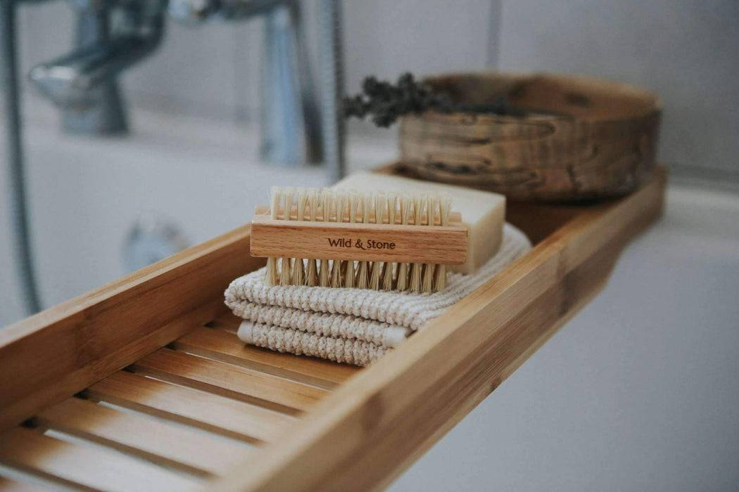 Wild & Stone Nail Brush Nail Brush - Natural Bristle in bathroon