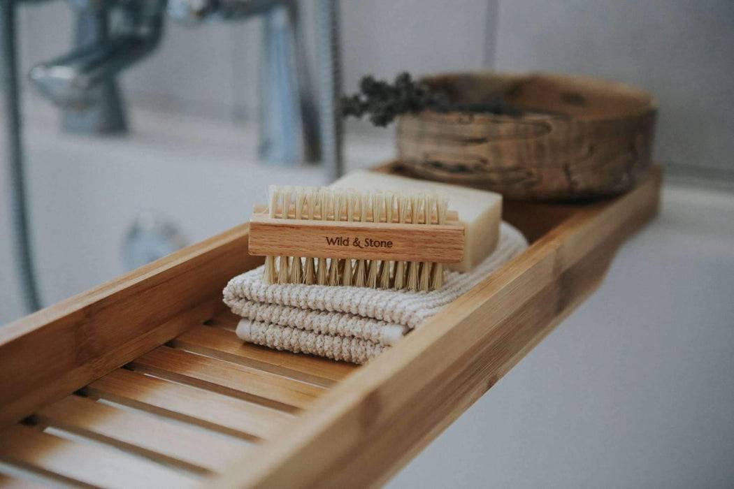 Wild & Stone Nail Brush Nail Brush - Natural Bristle in bathroon