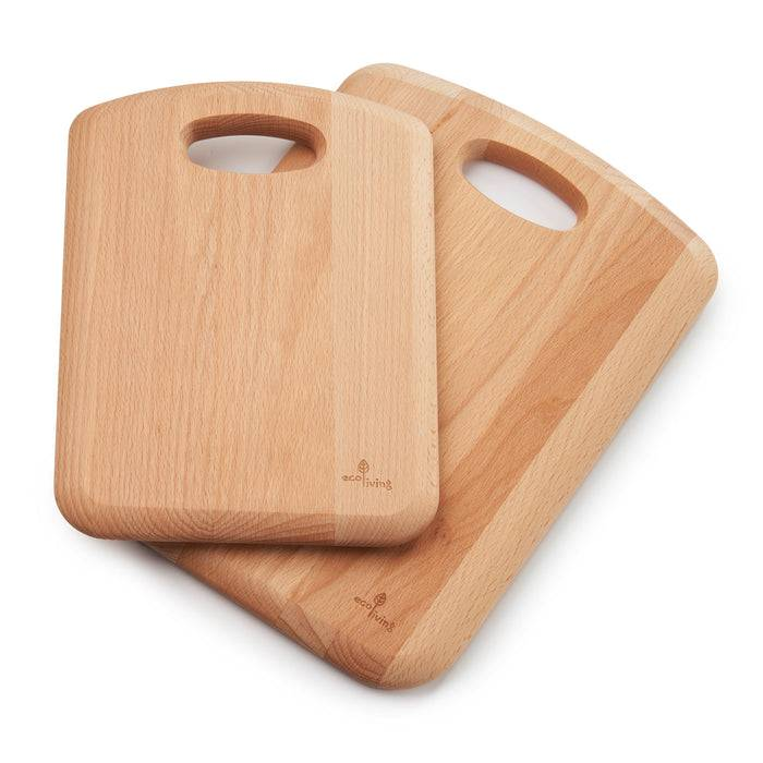 Large Wooden Chopping Board with Handle 34cm