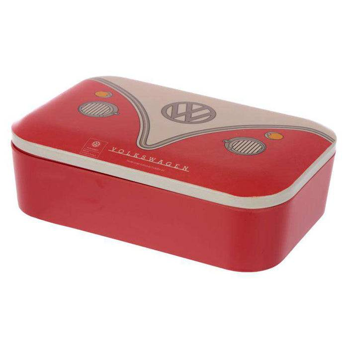 Bamboo Composite Reusable Lunch Box - VW T1 Camper laid down