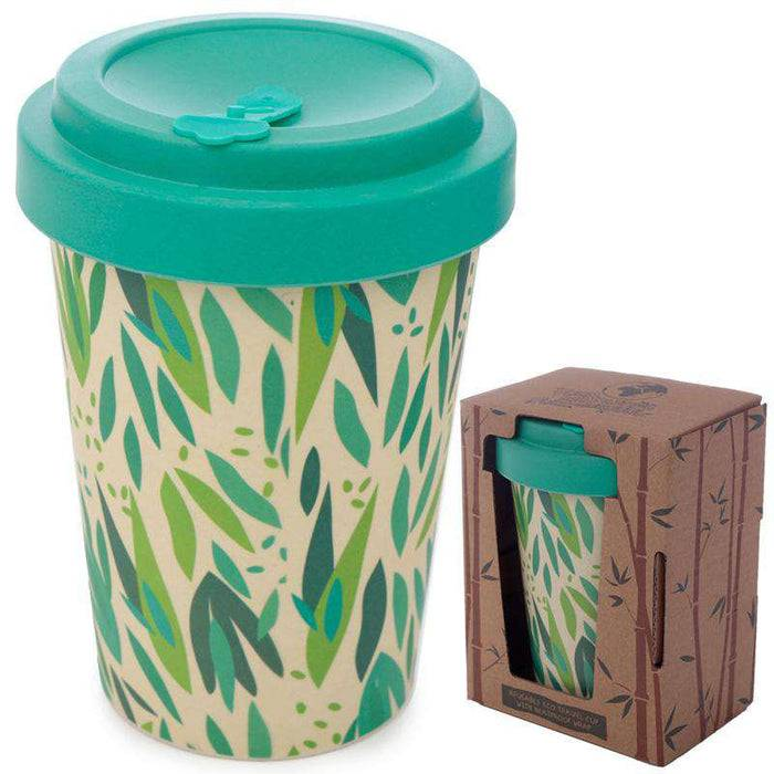 Bamboo Composite Reusable Travel Mug - Willow out of packaging