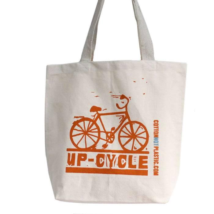 Zero Zen Eco bags Eco Cotton Bags - Up Cycle Single