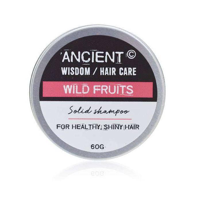 Zero Zen Solid Shampoo Bar - Wild Fruits SolidB-01 lid on top down view