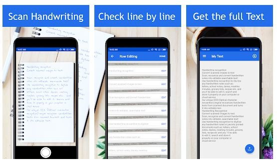 Best handwriting to text app Android/ iPhone 2021