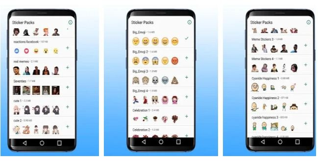 best WhatsApp stickers apps Android/ iPhone