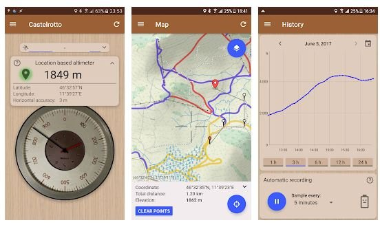 Best altimeter apps Android/ iPhone 2021