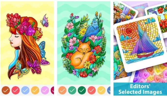 Best Coloring Painting Games Android/ iPhone 2021