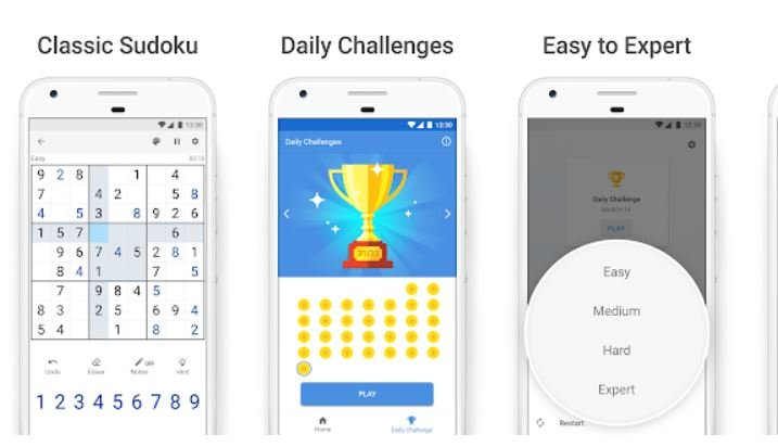 Best Sudoku Games Android/ iPhone 2021