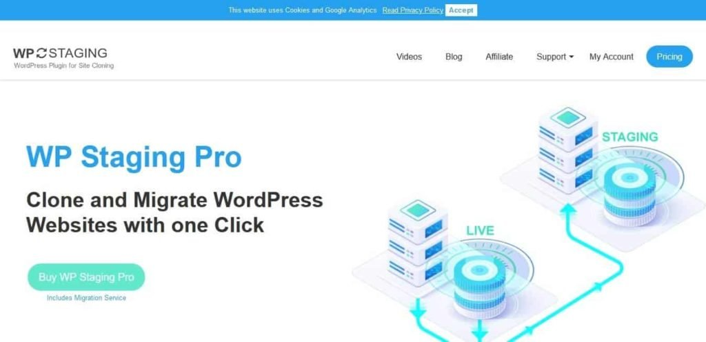WP Staging - One Click Cloning of Your WordPress Website