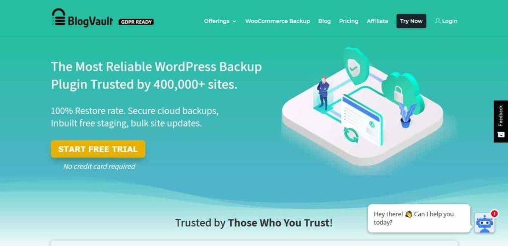 WordPress Backup Plugin - BlogVault