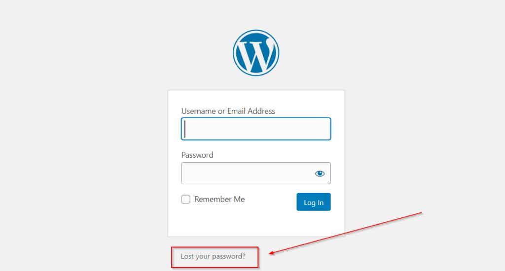 How To Recover WordPress Password