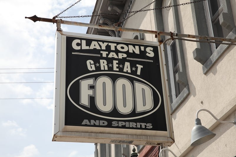 Claytons Sign 2015 5-7 Girl's Night Out