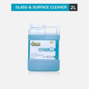 Glass Cleaner Ossom S3 - Glass and Surface Cleaner Concentrate | Anti-Fog