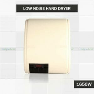 Ossom Electric Hand Dryer Quiet, 1650w | for Low Traffic Washrooms