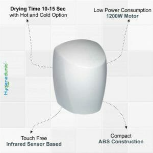 Hand Dryer Automatic Sensor based Hot and Cold Hand Dryer 1200W