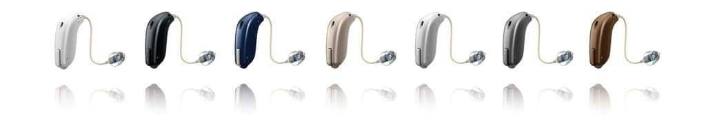 series of hearing aids by oticon