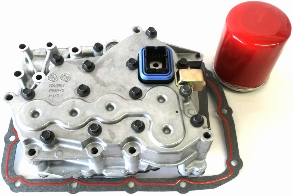 1993-1996 TAAT SATURN VALVE BODY W/ FIBER GASKET AND SPIN ON FILTER EXTERNAL REMANUFACTURED